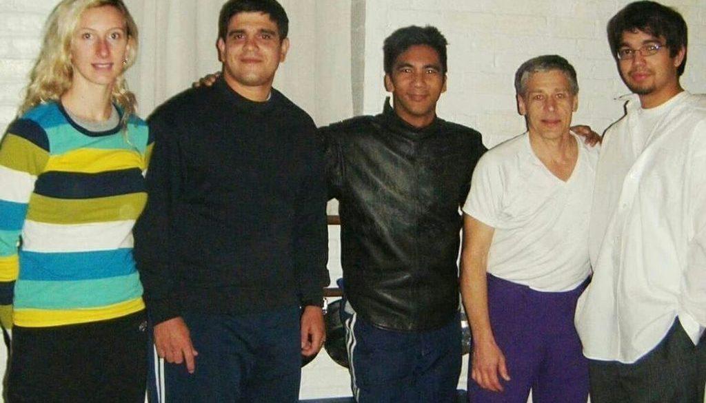 Jesus Sierra, Coach Gerhard Guevarra, Coach John Page, Coach Alexandra Socha, Coach Paul Hovey