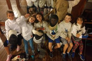 youth group fencing class