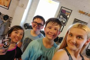 youth finalists, Laialona Sanders, Jack Tart, Jaina Janson
