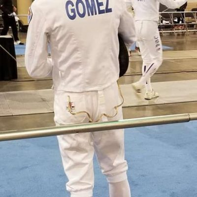 Victor Gomez waiting for bout at Richmond NAC