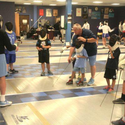 Coach Ron Miller UNC NCFDP Summer Fencing Camp Fetzer