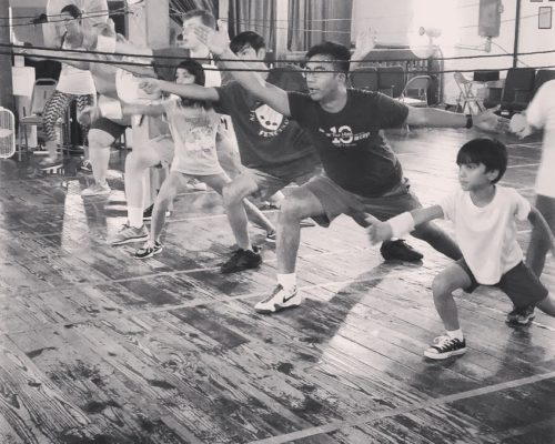 fencing class line