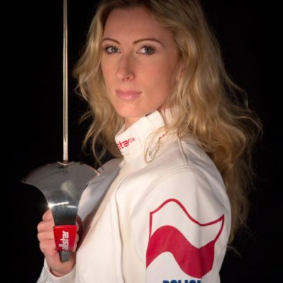 Aleksandra Ola Socha saber fencer Poland