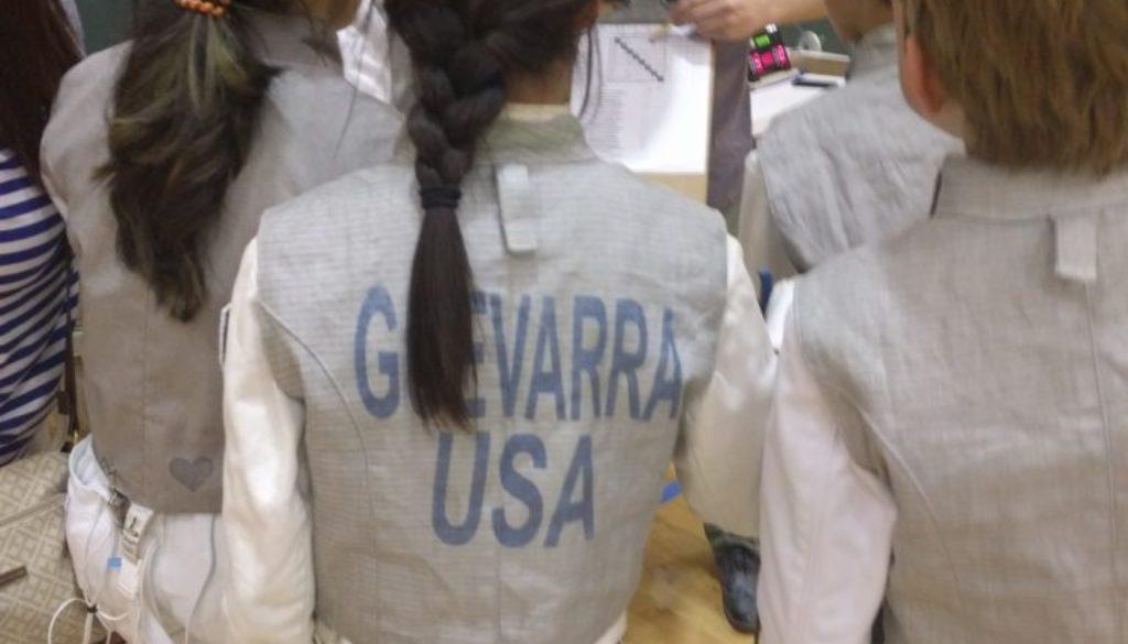 Apex fencing tournament, Guevarra