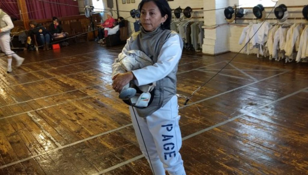 Inez Page women's foil tournament
