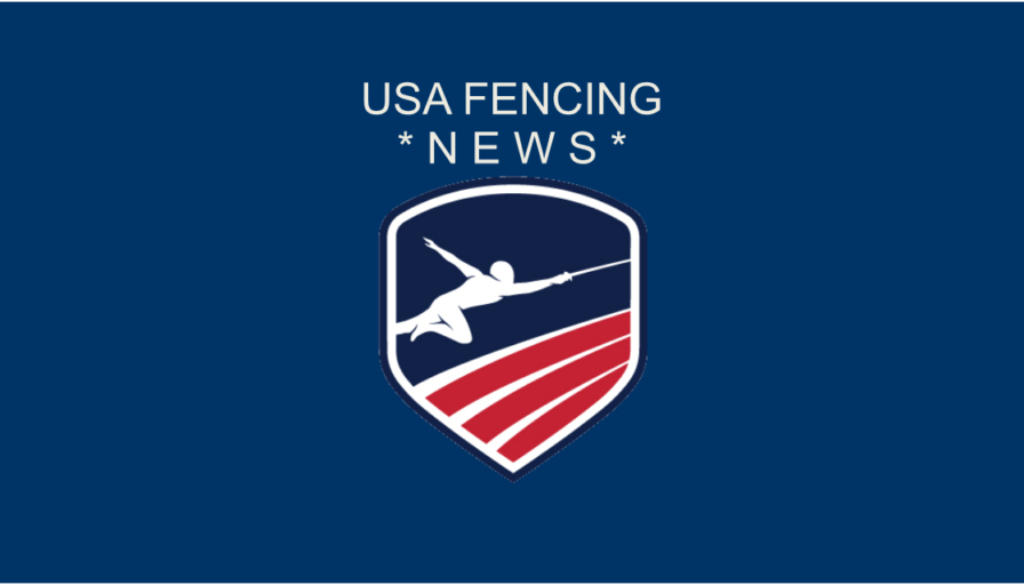 USA Fencing news banner logo