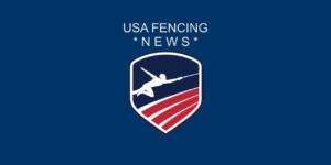 USA Fencing news banner logo
