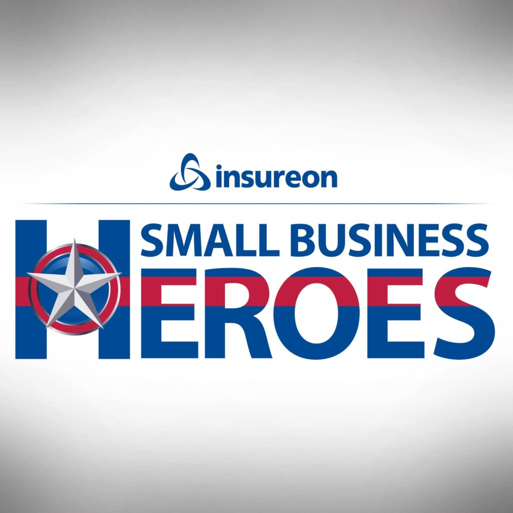 Awarded the Insureon Small Business Heroes Grant