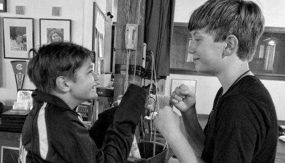 Daniel Johnson and Jack Tart face to face