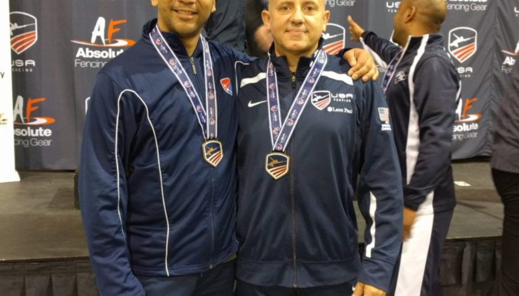 Coach Gerhard and Julio Diaz Richmond NAC Medals