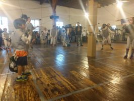 liam fencing tournament