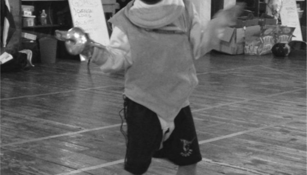 grayscale liam fencing