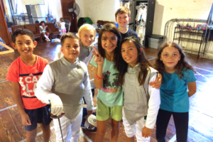 youth fencers
