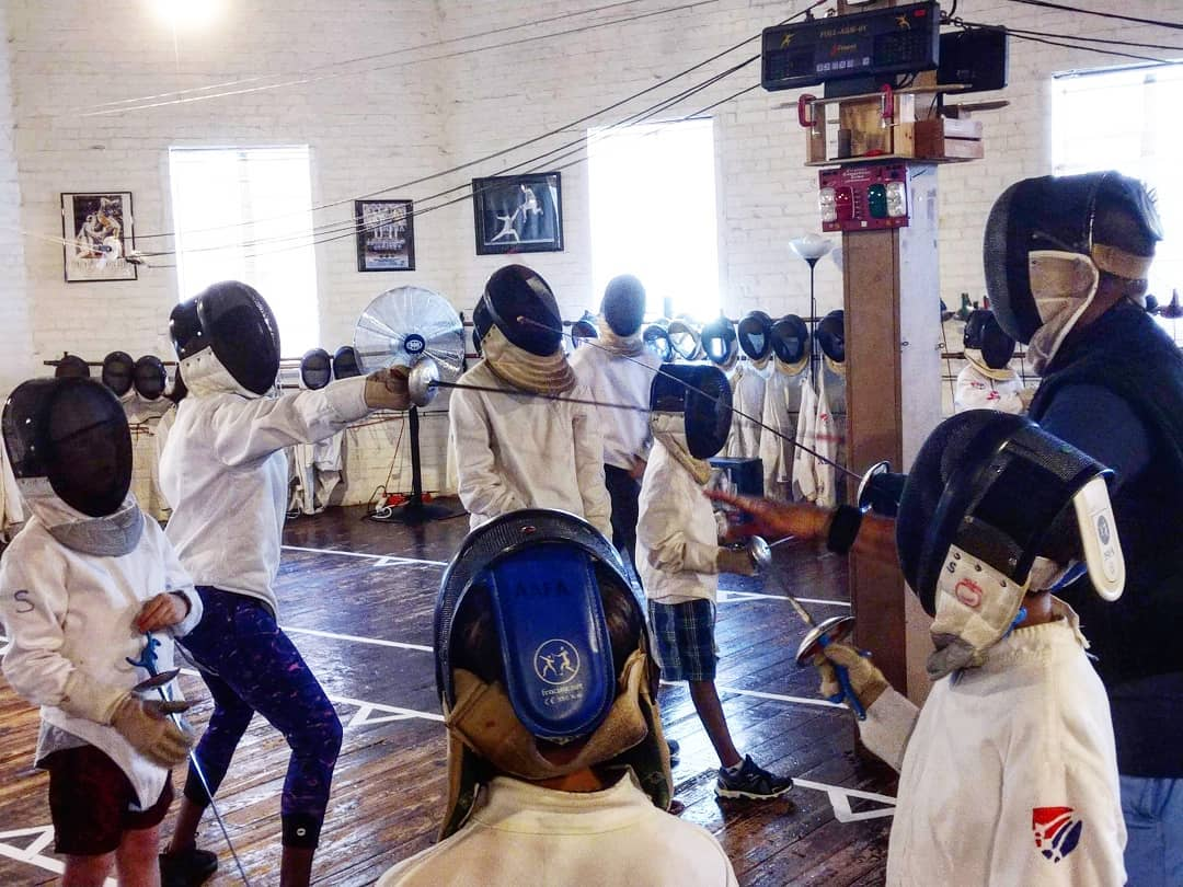 Beginner Fencing Camps All American Fencing Academy