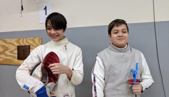 Isabelle and Daniel at Apex RYC
