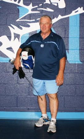 Coach Ron Miller