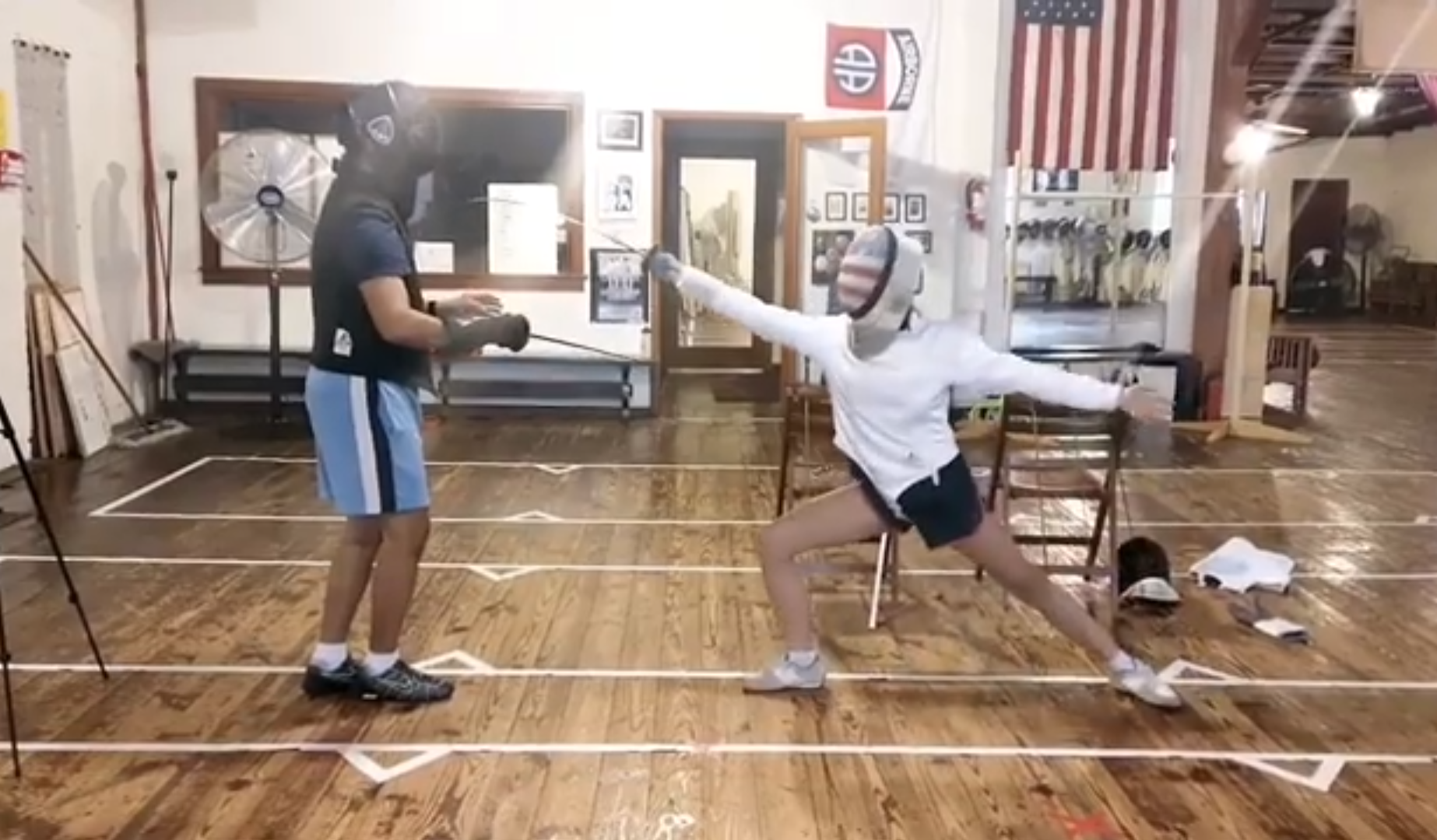 How To Teach Fencing Part 5