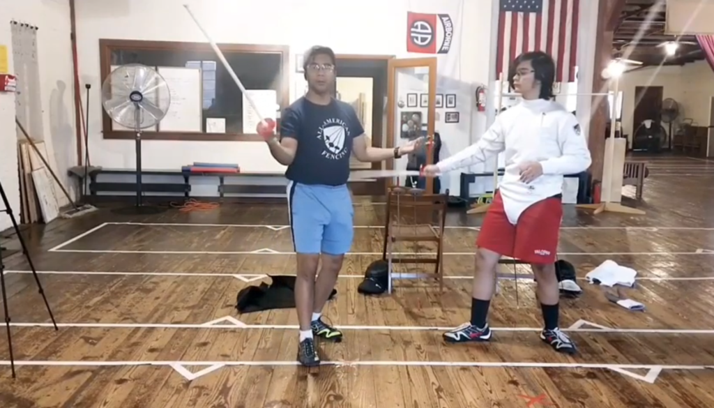 How To Teach Fencing Part 4