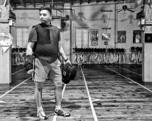 Coach Gerhard black and white